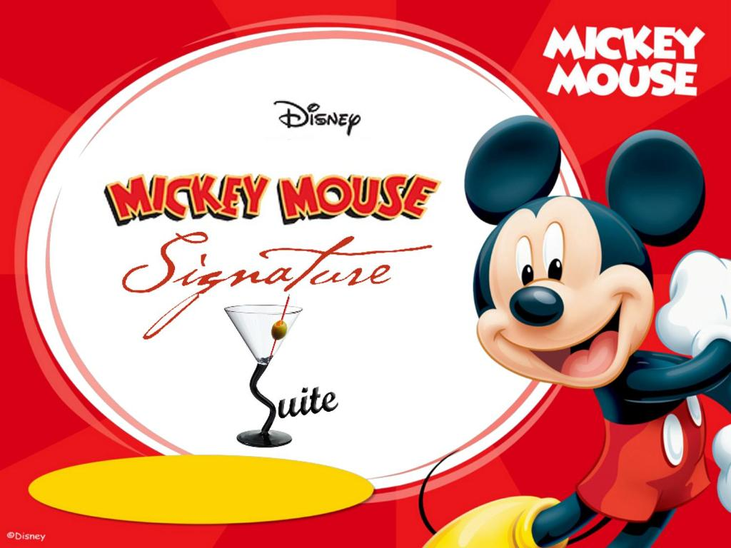 Mickey Mouse Signature Suite