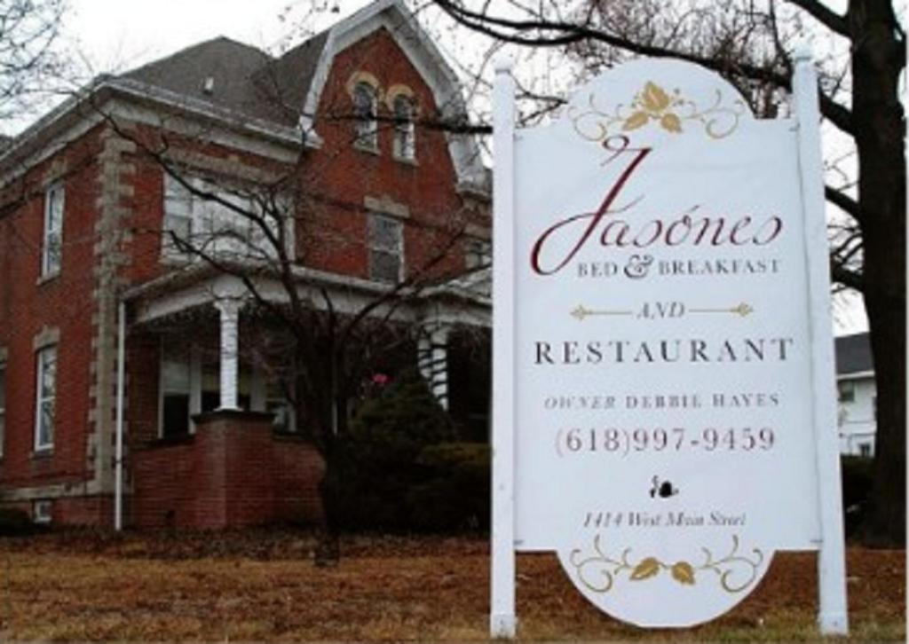 Book Now Jasones B&B and Restaurant (Marion, United States). Rooms Available for all budgets. Conveniently located 3 minutes from Interstate 57 this Marion B&B features an on-site restaurant and free Wi-Fi throughout the property.  Each guest room boasts a cable TV.