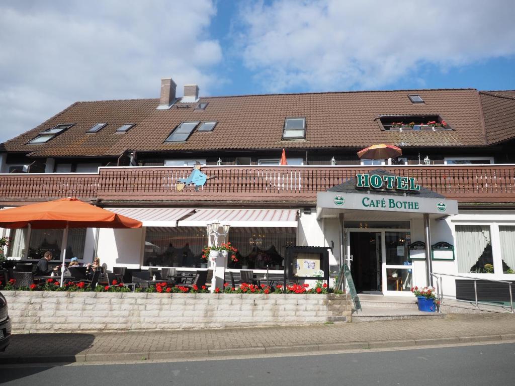 Café Bothe, Pension in Langelsheim-Wolfshagen bei Liebenburg