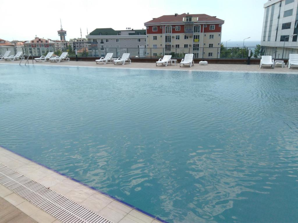 Swimming pool Cozy Apartments in Buyukcekmece Istanbul