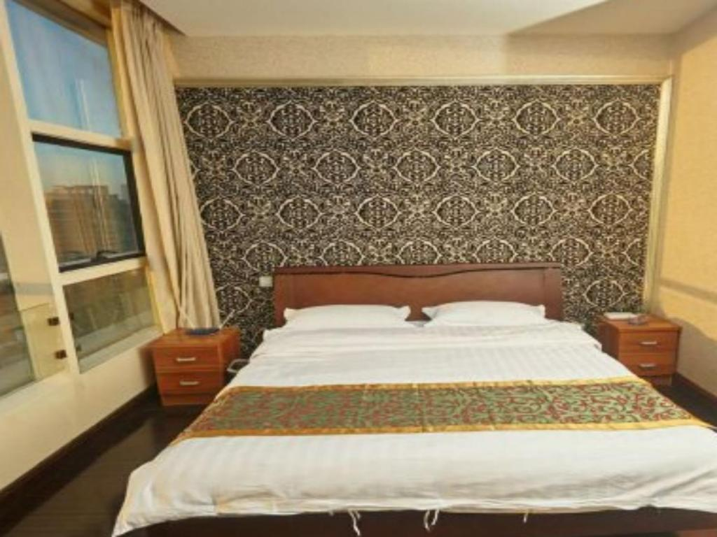 Business Twin Room Beijing Holiday Sunshine Hotel Apartment