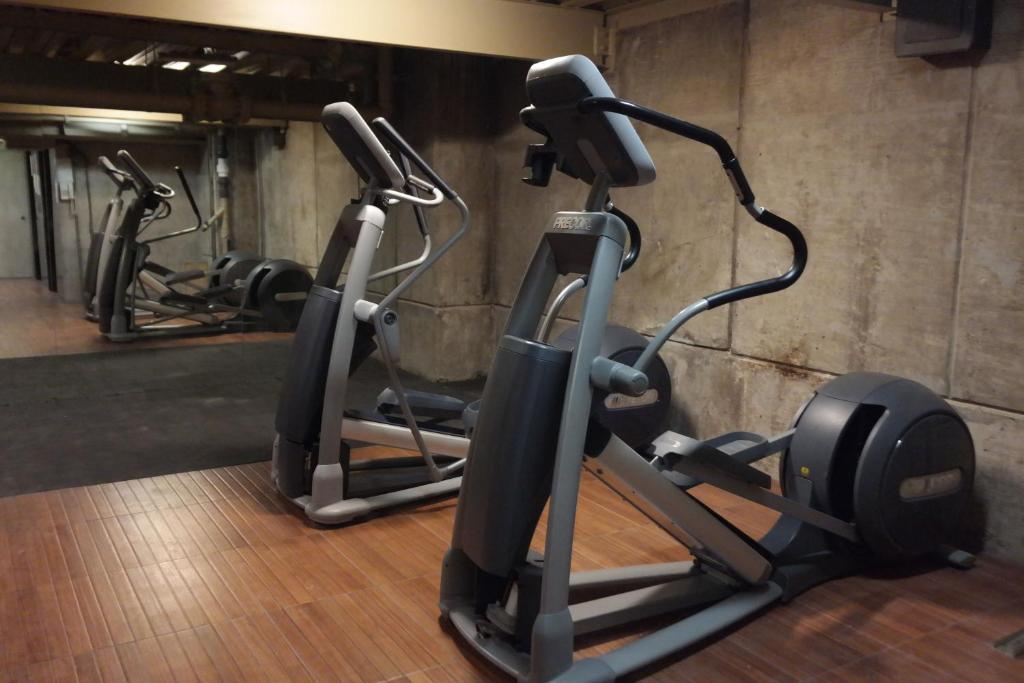 Fitness center Suites Capri Reforma Ángel 380