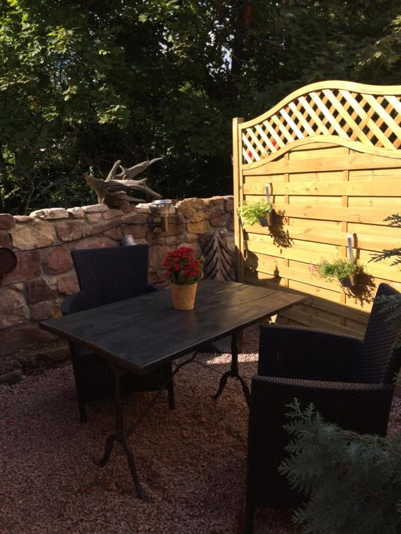 Cottage (2 Adults) - Balcony/terrace Gite de la Streng