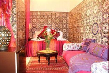 Standard Double Room Riad Sacr