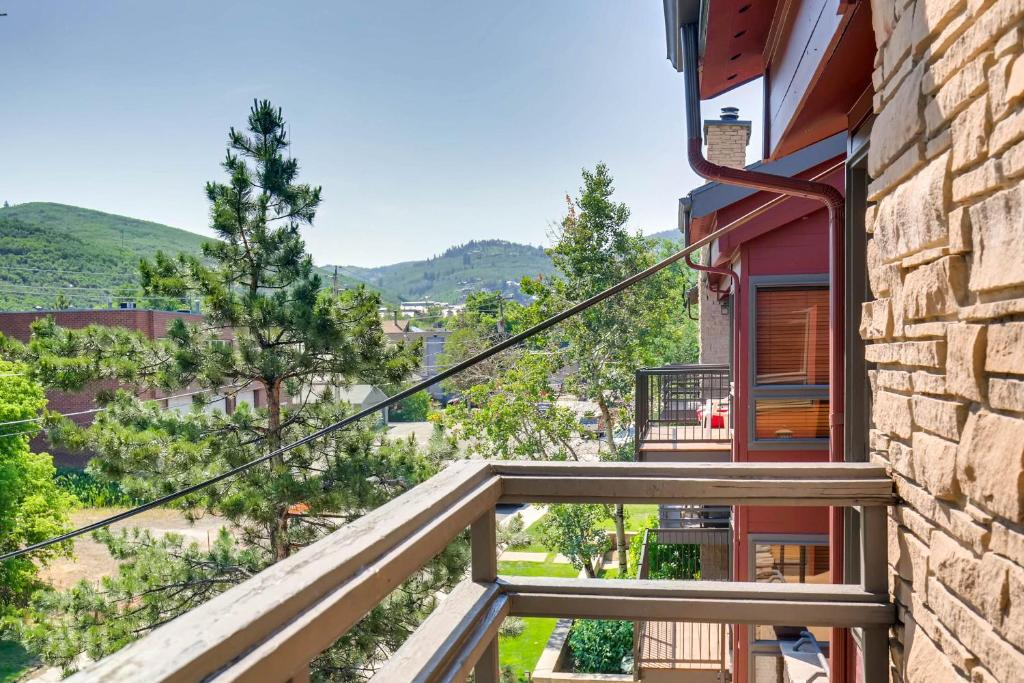 Terrazzo/balcone Silver Cliff Park City Condos by Wyndham Vacation Rentals