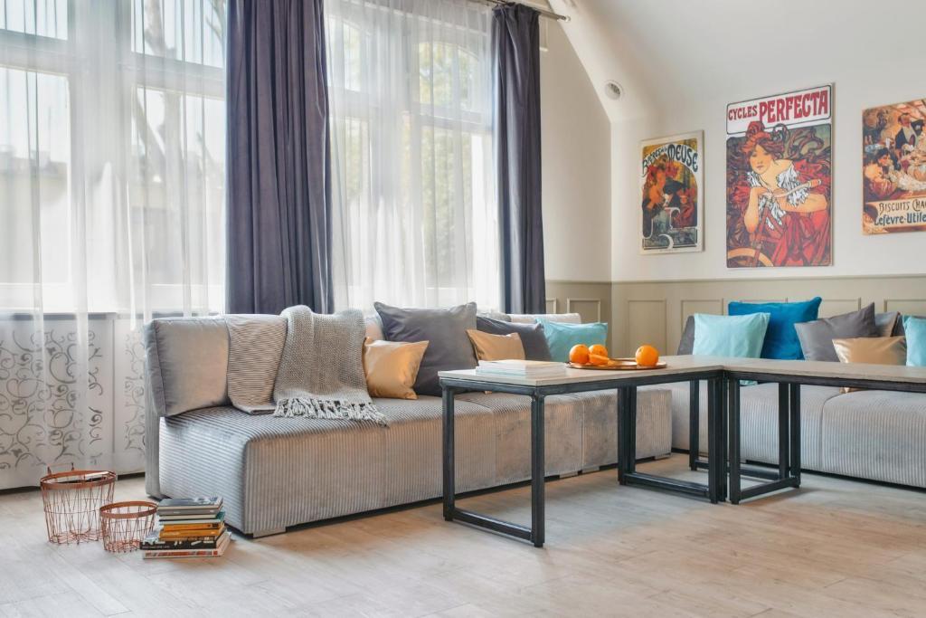 noclegi Sopot Lion Apartments - Scandi Love