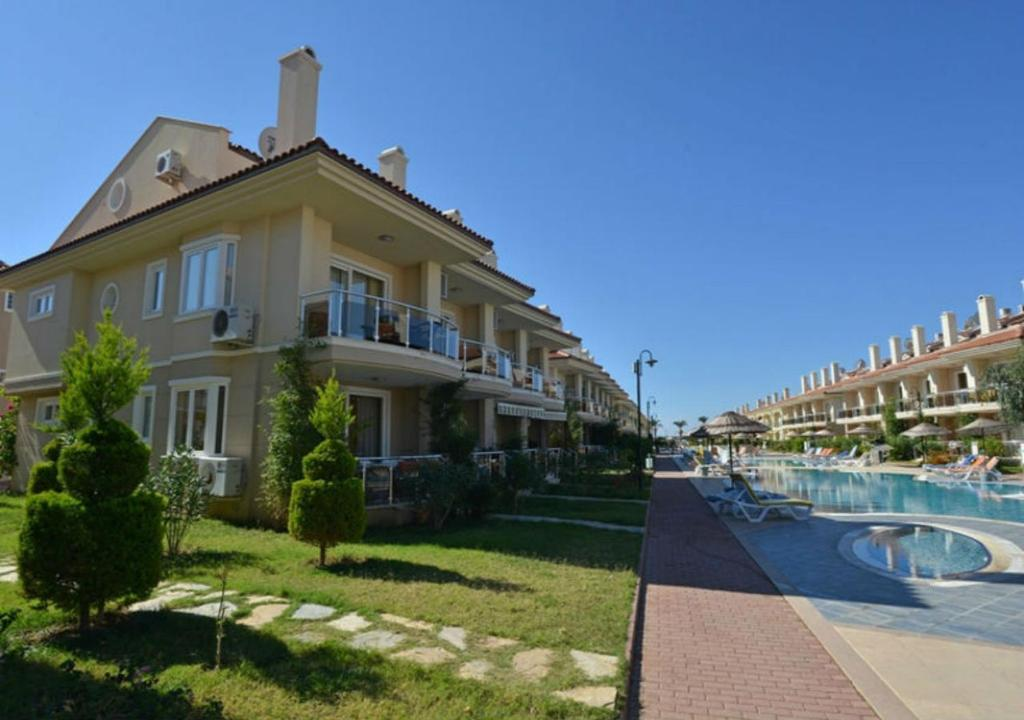 مدخل Sunset Beach Club Calis Beach 2 Bedroom Apartments