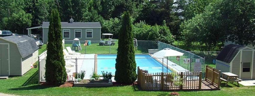 Piscina Orchard Queen Motel & RV Park