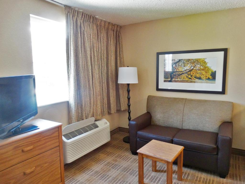 Sala de estar independente Extended Stay America Tech Ctr S Greenwood Village