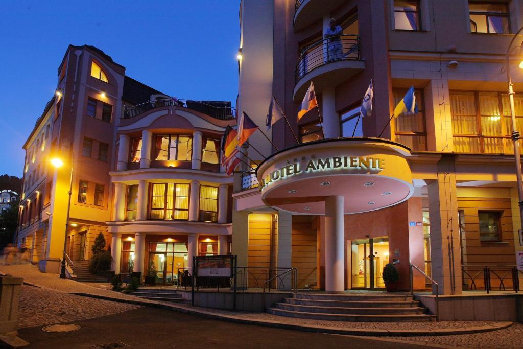 Отель амбиенте карловы вары официальный сайт