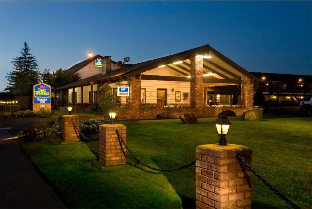 Best Western Garden Inn Santa Rosa Ca 1500 Santa Rosa 95404