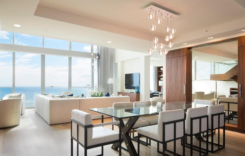 Separate living room Three Stories Presidential Penthouse by Real Select Vacations at Residences, Waikiki Beach
