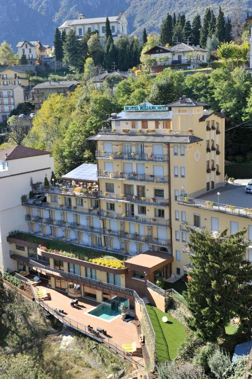 Book Now Hotel Resort & Spa Miramonti (Rota d'Imagna, Italy). Rooms Available for all budgets. The family-run Hotel Miramonti offers breathtaking views across the Imagna Valley. It features a brand-new wellness centre and a restaurant serving regional specialities.Avail