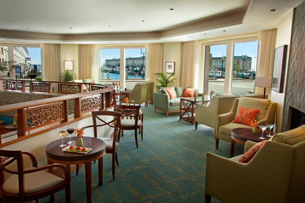Book Now Seaport Boston Hotel (Boston, United States). Rooms Available for all budgets. Guests enjoy underwater pool tunes international cuisine and a harbor location at the non-smoking Seaport Boston Hotel. The 18-story non-smoking hotel offers 428 lavish guestr