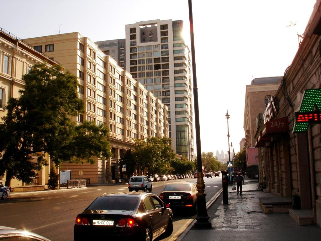 דירת חדר שינה אחד Apartments in the center of Baku