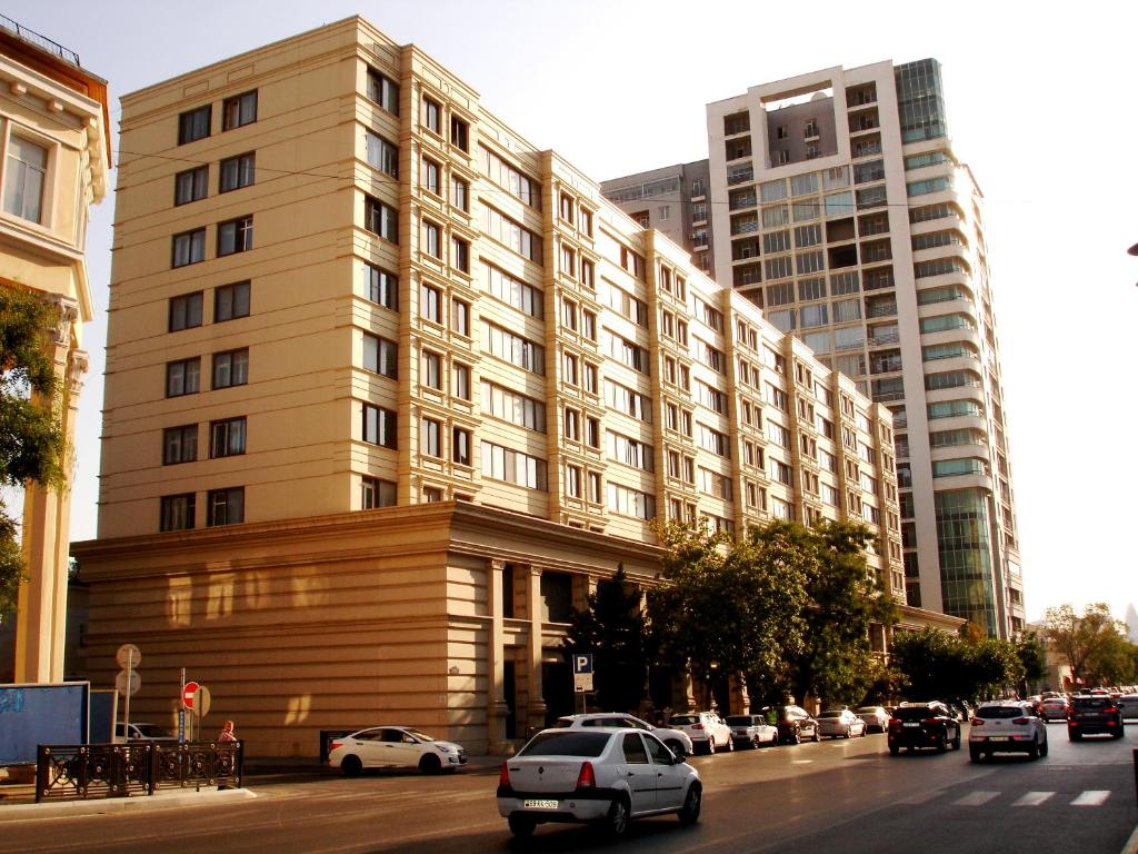 Apartments in the center of Baku
