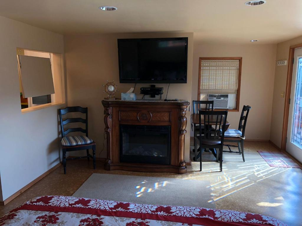 Suite King Deluxe Deer Harbor View Cottages