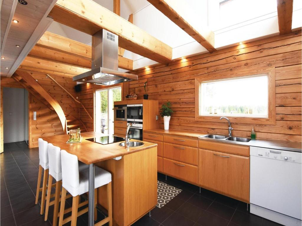 Four-Bedroom Holiday Home in Aneby