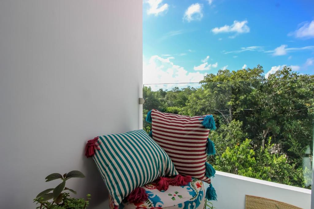 Tropical 3Story Condo with Terrace at Tulum