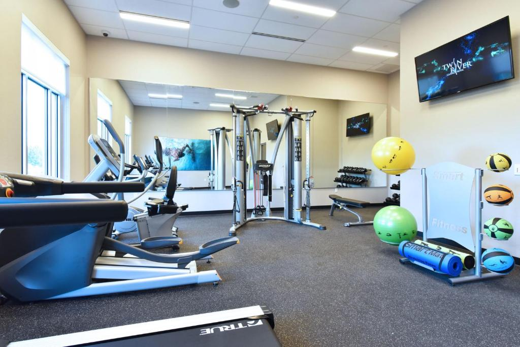Fitness center Twin River Casino Hotel
