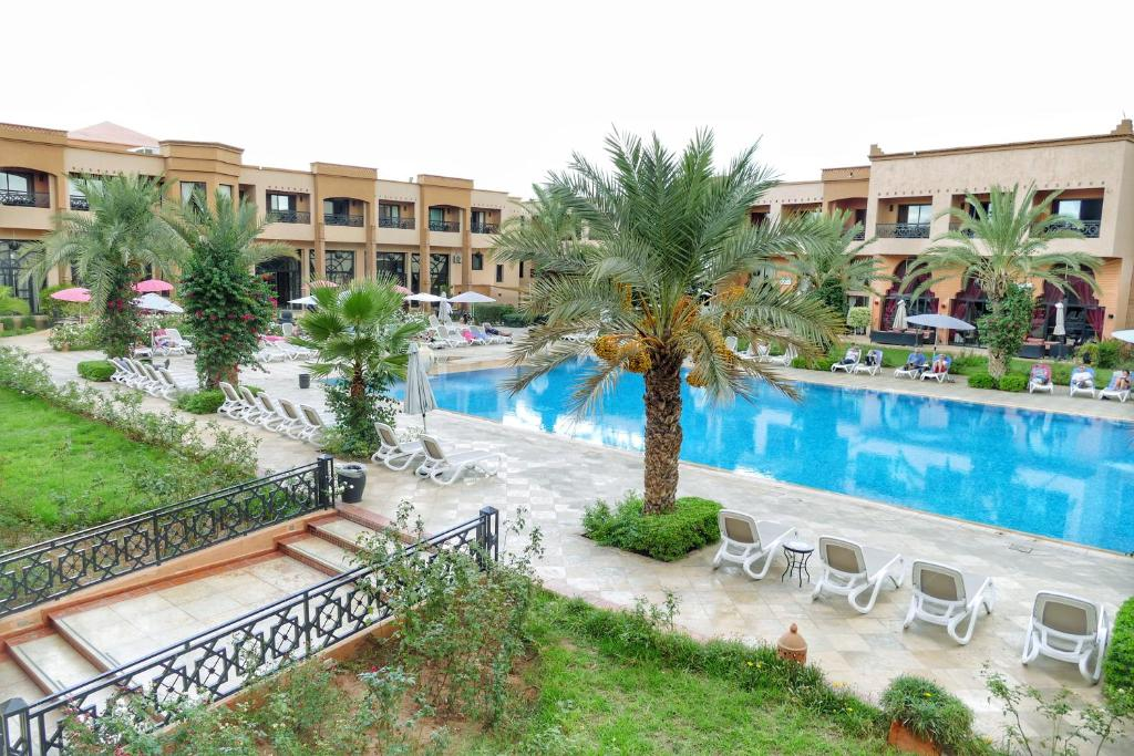 Double Room with Pool View - Swimming pool Zalagh Kasbah Hotel & Spa
