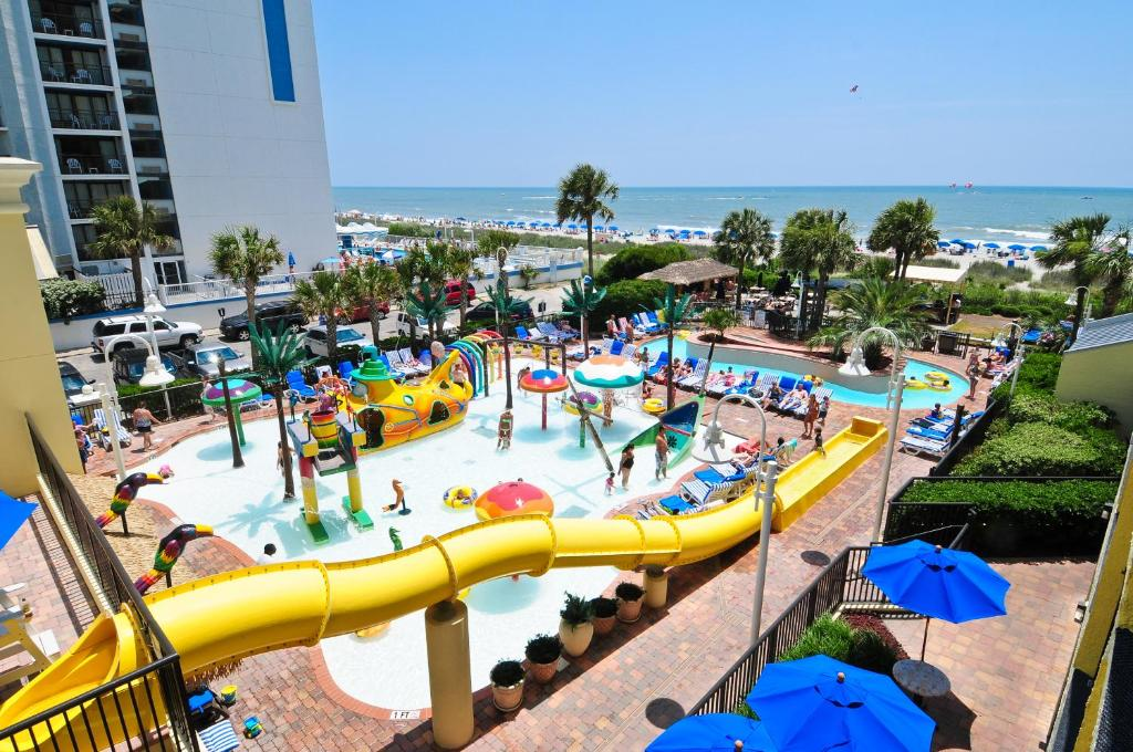 Located In South Myrtle Beach This Ocean Front Resort
