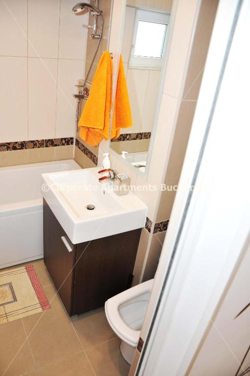 Bathroom Corporate Apartments Bucharest