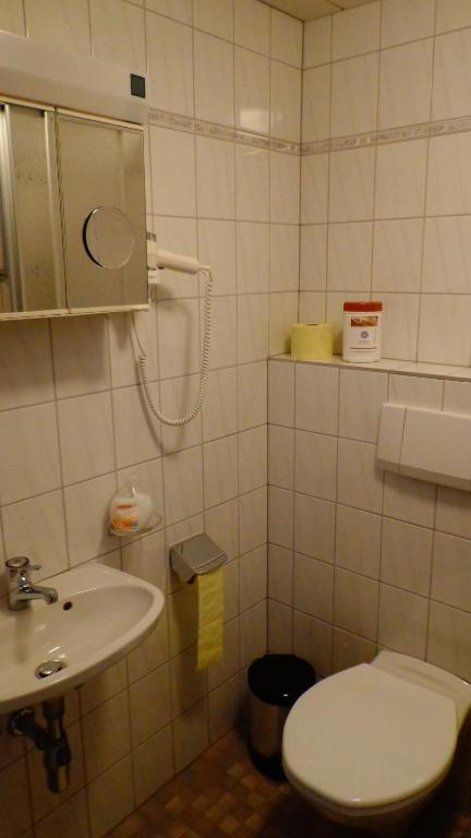 Single Room - Bathroom Haus Bergkristall