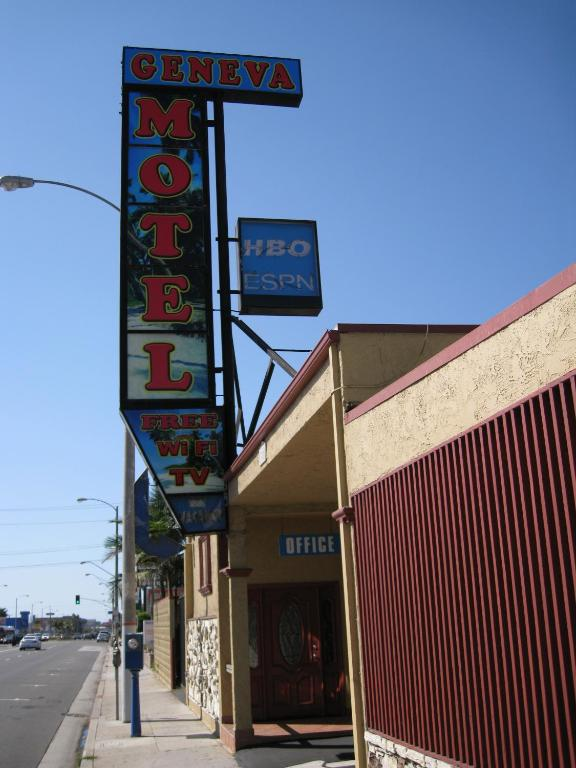 Book Now Geneva Motel (Inglewood, United States). Rooms Available for all budgets. This motel in Inglewood California is 2.5 miles from Los Angeles International Airport. The motel provides free Wi-Fi and each room includes cable TV with a seating area.Each