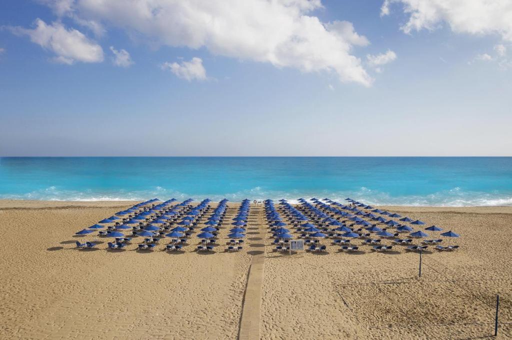 On The Sandy Beach Of Rethymno