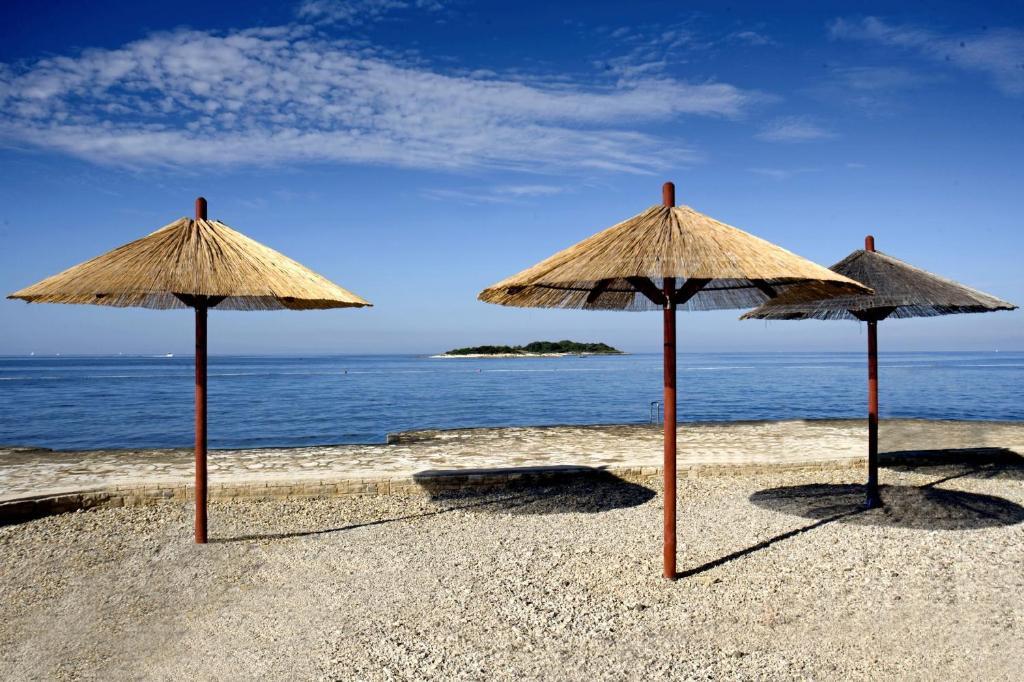 Пляжи пореч хорватия