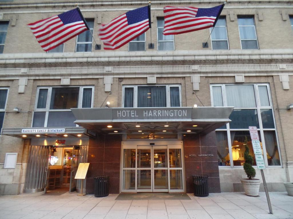 Book Now Harrington Hotel (Washington, United States). Rooms Available for all budgets. A half-mile from the White House and a mile from the Capitol non-smoking Harrington Hotel puts guests in the heart of the action in Washington D.C. Harrington's 242 non-smokin