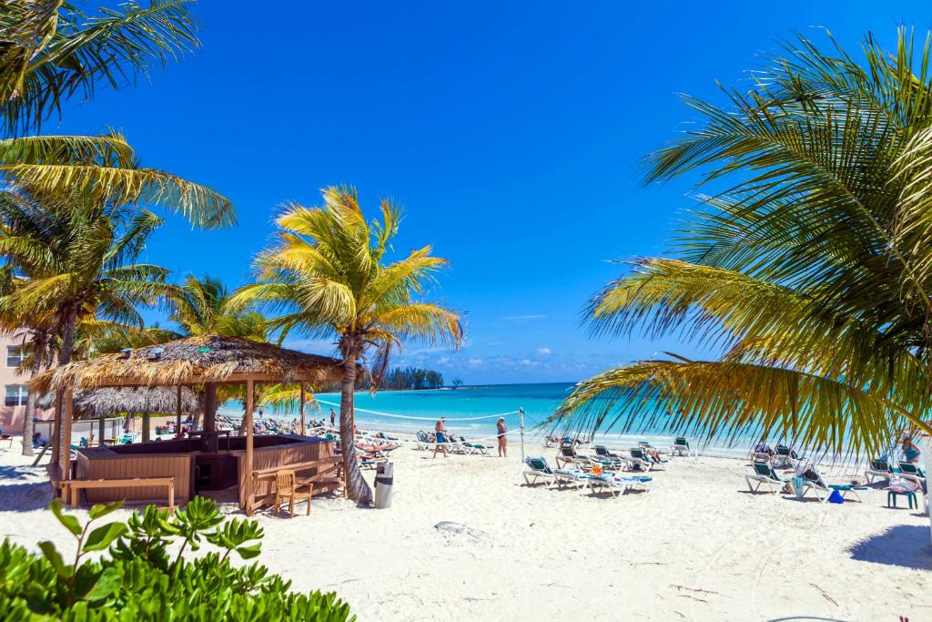 Map Freeport Bahamas Island