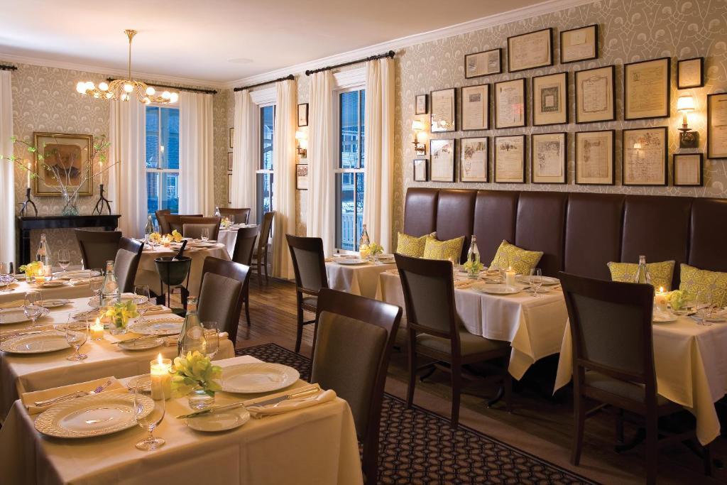 The Delmonico Room Hotel Fauchere Restaurant