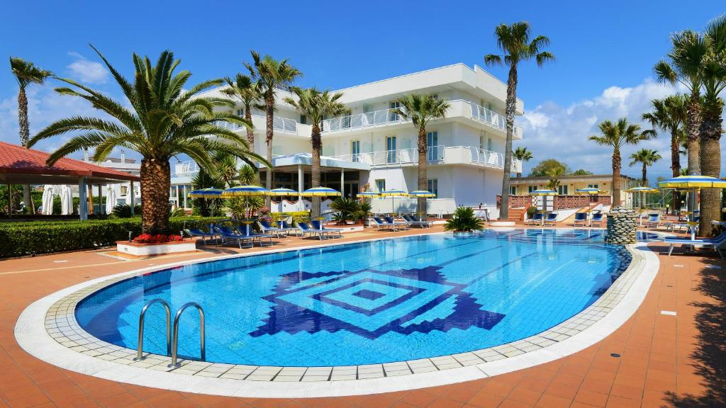 Book Now Hotel Olimpico (Pontecagnano, Italy). Rooms Available for all budgets. Set only 50 metres from its own private beach Hotel Olimpico offers free parking and free WiFi. It features a swimming pool in its tropical garden.A free shuttle is offered fr