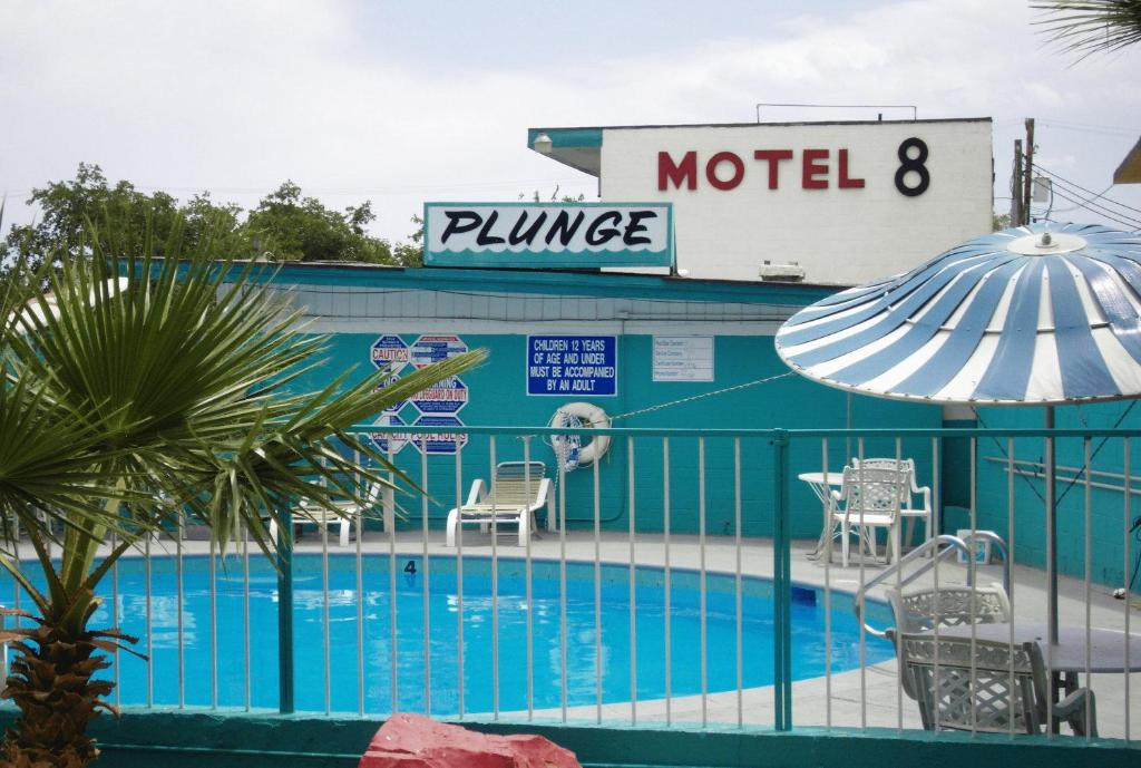 Book Now Motel 8 Las Vegas (Las Vegas, United States). Rooms Available for all budgets. This Las Vegas motel is located 3 miles from McCarran International Airport and within walking distance to Luxor and Excalibur. The motel features free Wi-Fi and a seasonal ou