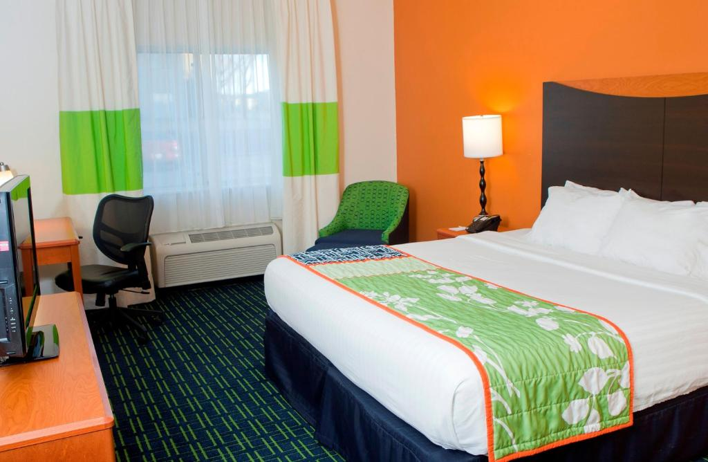 Quartos Fairfield Inn & Suites Joliet North/Plainfield