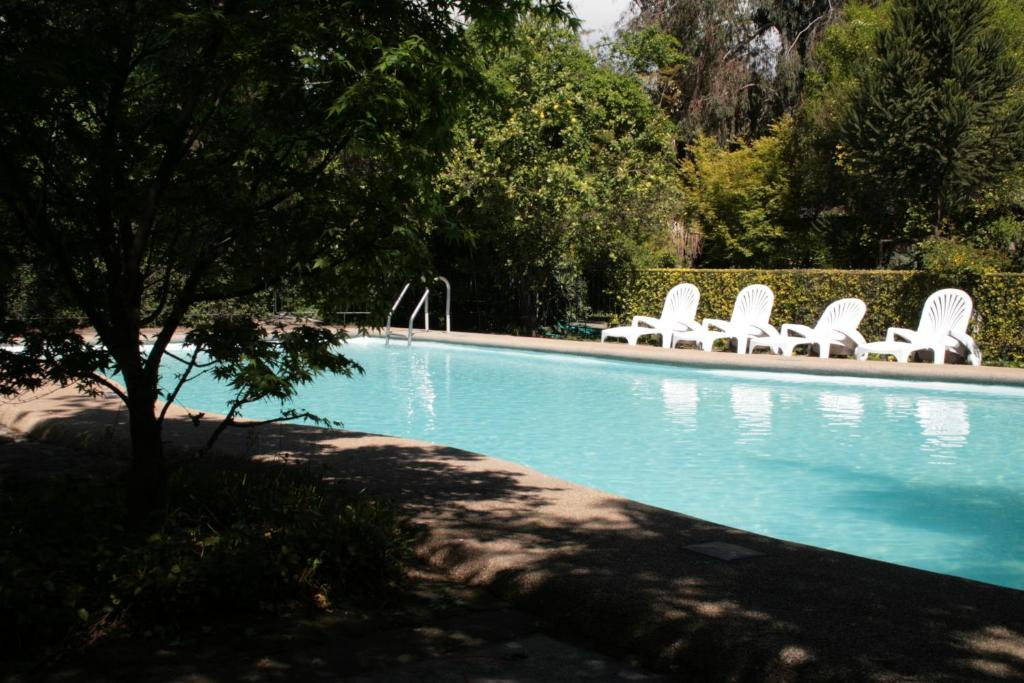 Swimming pool Hotel Acacias de Vitacura