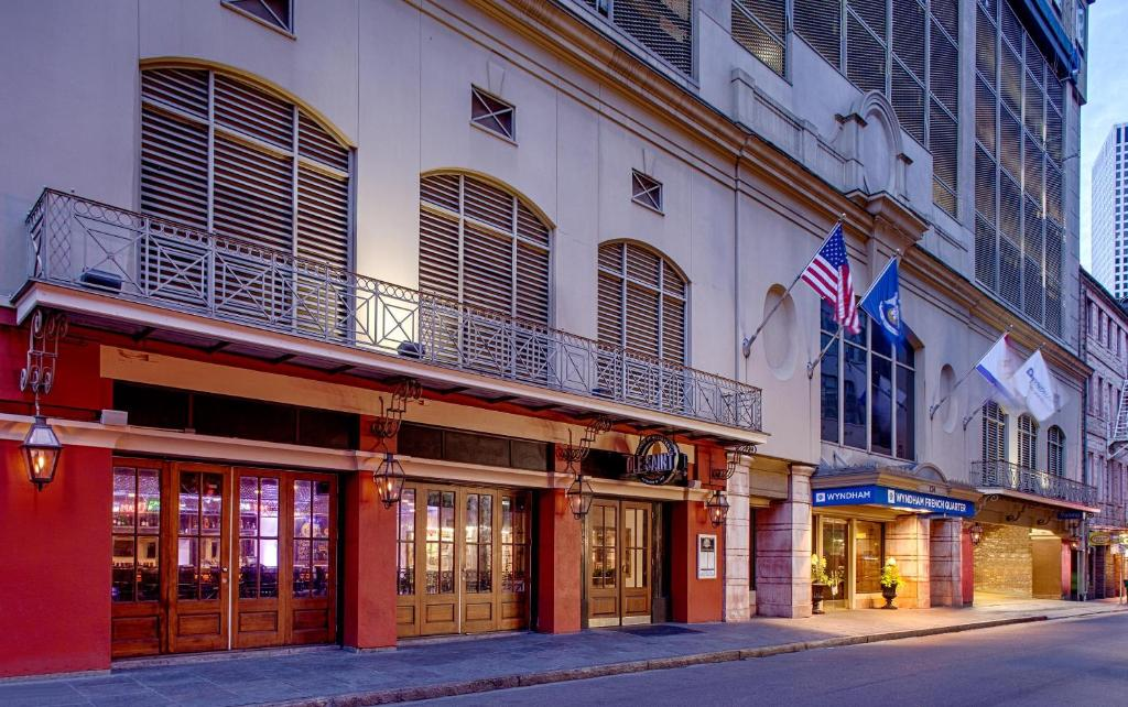 Book Now Wyndham New Orleans - French Quarter (New Orleans, United States). Rooms Available for all budgets. Located one block off Bourbon Street with free Wi-Fi and comfy accommodations the non-smoking Wyndham New Orleans - French Quarter offers our guests a jazzy deal. The 20-floor