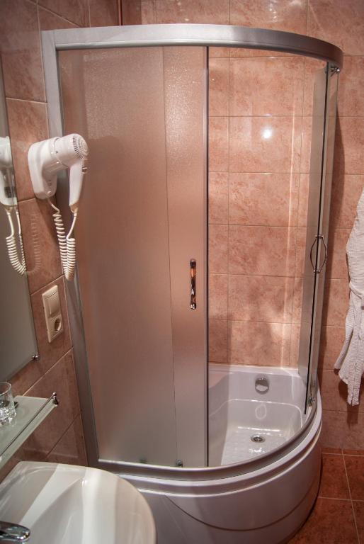 Standard Double or Twin Room - Bathroom Bogemia Hotel on Vavilov Street