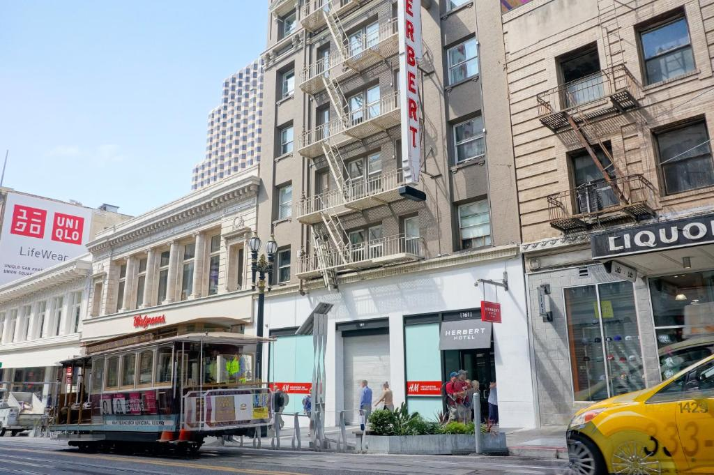 Book Now Herbert Hotel (San Francisco, United States). Rooms Available for all budgets. This historic San Francisco hotel is situated along the Powell Street Cable Car line 1 block from shopping at Union Square. It features contemporary rooms with free WiFi.Guest