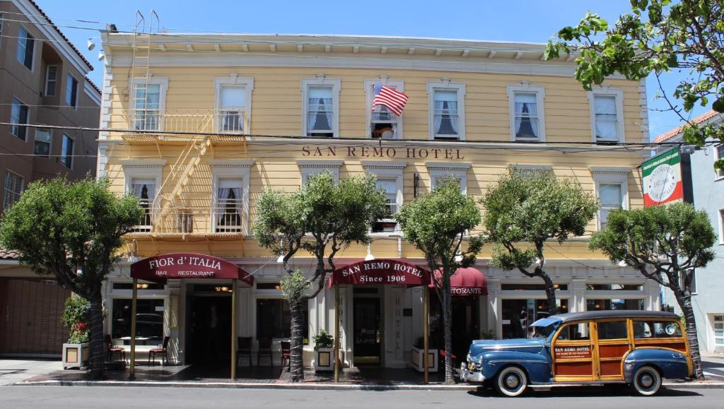 Book Now San Remo Hotel (San Francisco, United States). Rooms Available for all budgets. Offering free Wi-Fi this cosy European-style hotel is located in North Beach within walking distance of Fisherman's Wharf. It combines old-world charm along with modern amenit