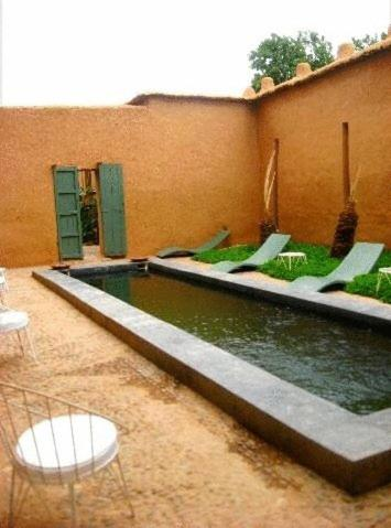 Swimming pool Kasbah Ait Moussa