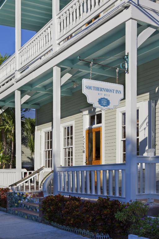Book Now Southernmost Inn Adult Exclusive (Key West, United States). Rooms Available for all budgets. This adults only Key West resort is 1 minutes' walk from Duval Street and 5 minutes' walk from the Atlantic Ocean. It features 2 heated outdoor pools a hot tub poolside bar an
