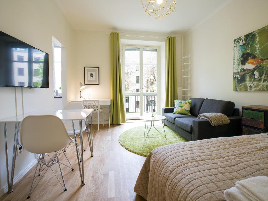 Best Price On Beautiful Apartments Norrtull In Stockholm Reviews - Sleek-and-beautiful-apartment-in-sweden