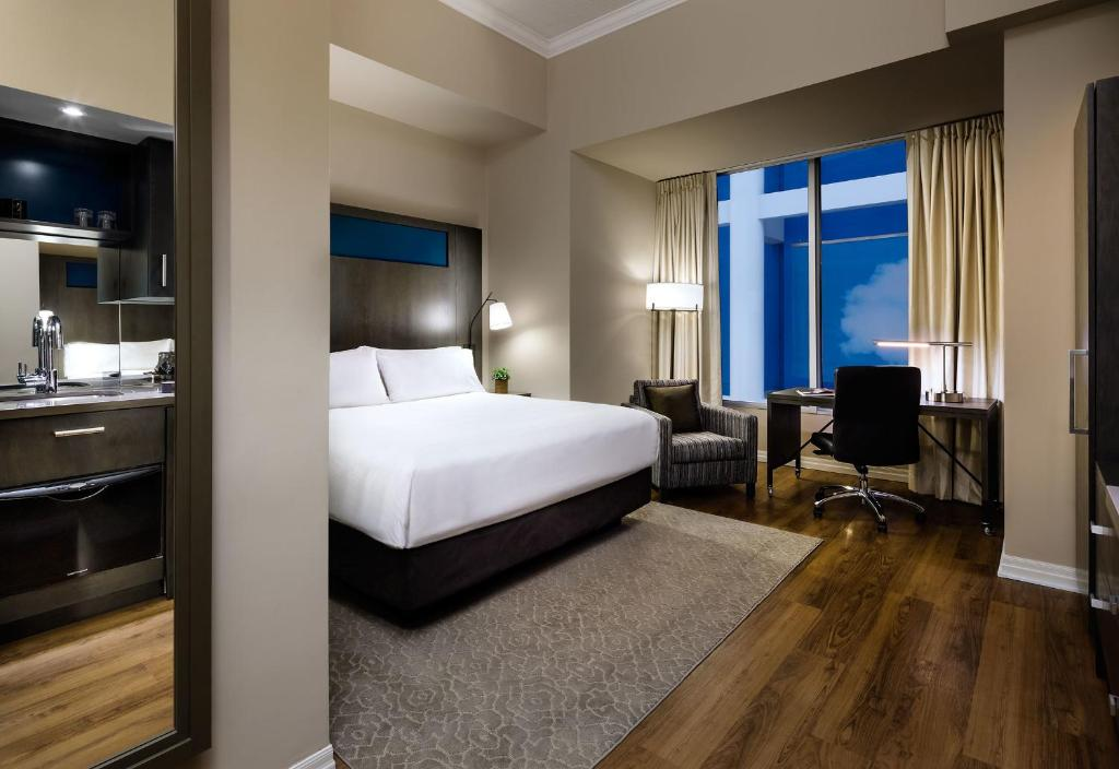 Historic Studio Suite - Interior View One King West Hotel and Residence
