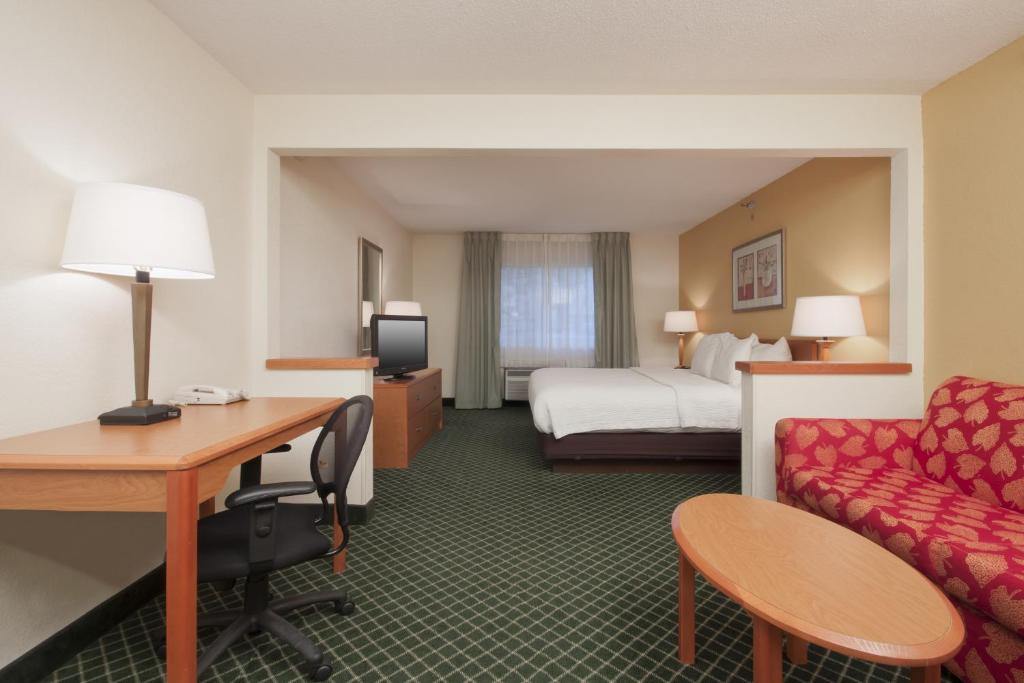 Quartos Fairfield Inn Sioux City