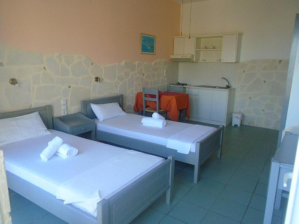 Studio with Sea View - Guestroom Irida