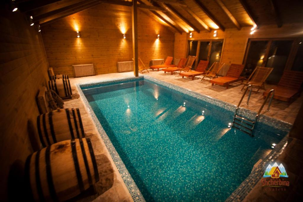Swimming pool Chalet Montenegro