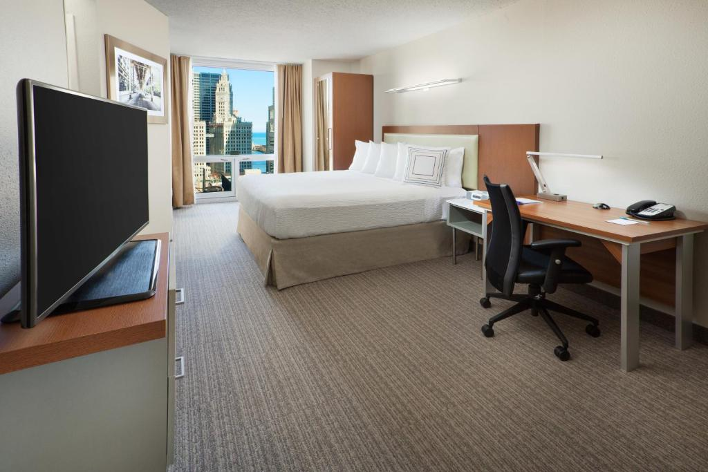 Quartos SpringHill Suites Chicago Downtown/River North